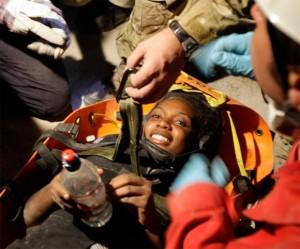 Rescate en Haití despues de 11 días del terremoto