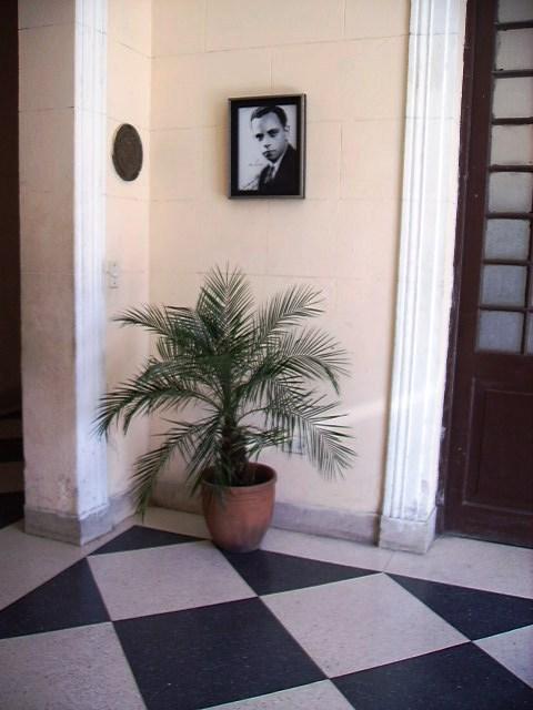 Rincón de Amadeo Roldán en el Conservatorio que lleva su nombre en La Habana.