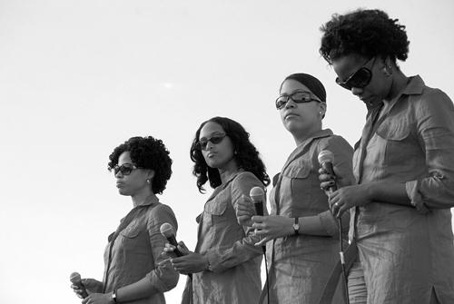 Sexto Sentido: Arlety, Melvis, Yudekis y Eline (Foto: Silvio Rodríguez)