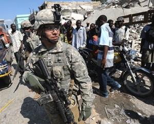 Los haitianos creen innecesaria y humillante la llegada masiva de tropas
