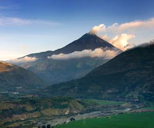 Volcán Tungurahua. Ecuador
