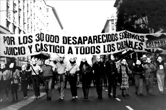 Madres de Plaza de Mayo. Foto: Archivo. EFE