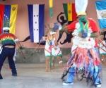 Actividad cultural efectuada durante la constitución de la Base de Paz en el municipio cienfueguero de Cruces. Foto: Cortesía de la Embajada de Venezuela en Cuba.