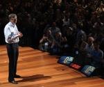 El fundador de Microsoft en la conferencia.   Fotos: James Duncan Davidson