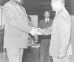 Fidel Castro y el general Moisés Sio Wong