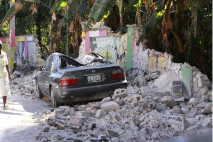 Jacmel, 21727 familias afectadas, 137 escuelas derrumbadas, 12 instituciones de salud en el piso,  432 fallecidos.