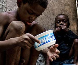 Haití, desnutrición infantil