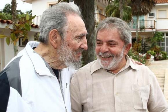 CUBA-BRAZIL-RAUL CASTRO-FIDEL CASTRO-LULA DA SOLVA