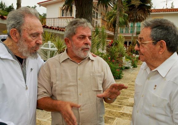 Fidel Lula Raúl