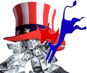 Partido Demócrata recibe dinero