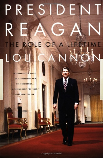 """Presidente Reagan: The Role of a Lifetime"". Editado por PublicAffairs; Rev Sub edition (April 4, 2000)"