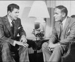 Ronald Reagan (izquierda) y el general Alexander Haig en la Casa Blanca