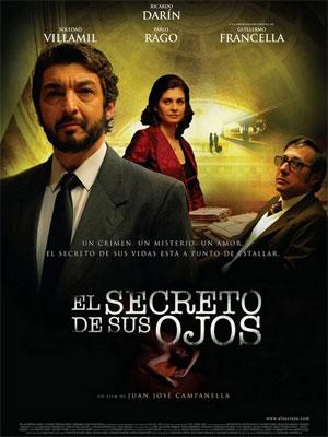 "Filme argentino ""El secreto de tus ojos"", obtiene el premio Goya"