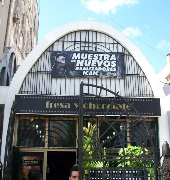 El Centro Cultural Fresa y Chocolate, una de las plazas en las que transcurrió la Muestra
