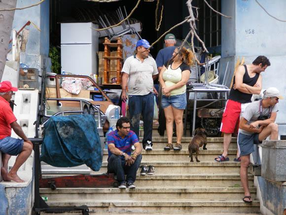 Malecón de La Habana con penetración del mar. 3 de marzo de 2010. Foto: Javier Sanzo