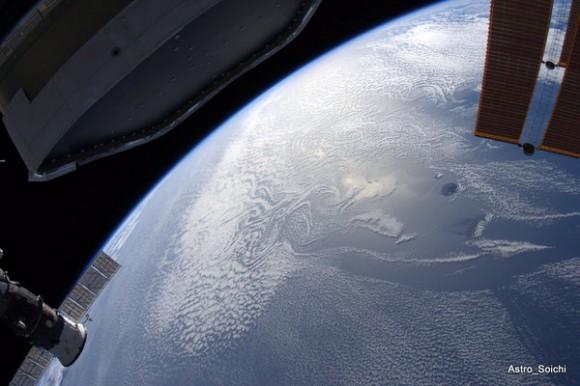 Africa desde la Estación Espacial.