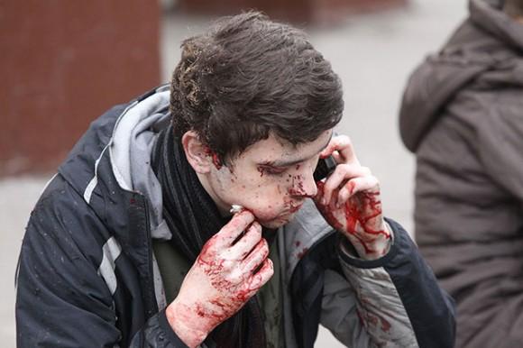 Atentado en Moscú Foto: AFP