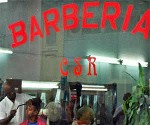 Barberías en Cuba. Foto: Kaloian