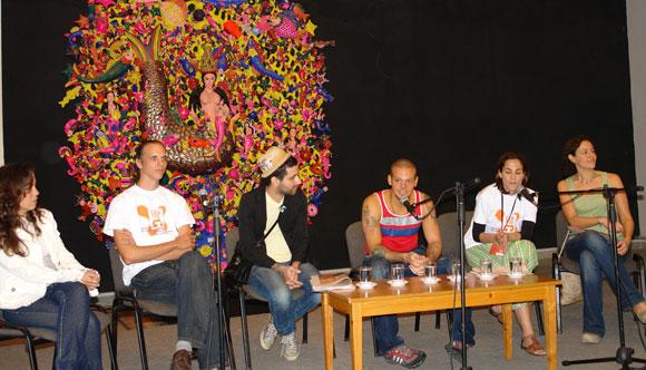 Calle 13 en la Casa de las Américas, Cuba. Foto: Marianela Duflar
