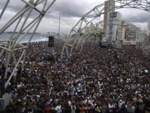 Programa de actividades de la visita de Calle 13 en Cuba