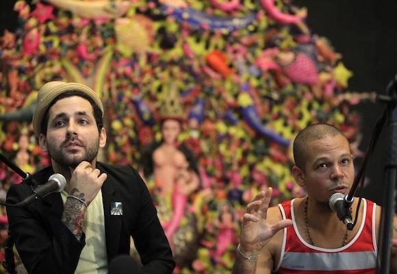 Calle 13 en Casa de las Américas Foto: Enrique de la Osa/ Reuters