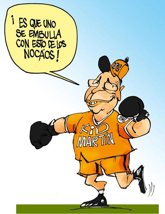 Rivalidad y Pasión Beisbolera en Caricaturas