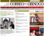 Página Web del Correo del Orinoco