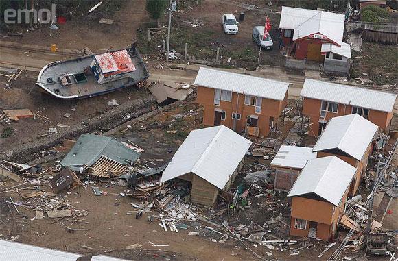 Zona de Dichato. Foto: Juan Eduardo López