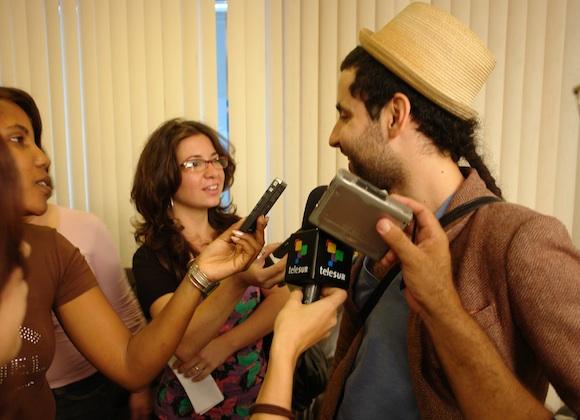 Eduardo Cabra, Visitante en Cuba. Foto: Cubadebate