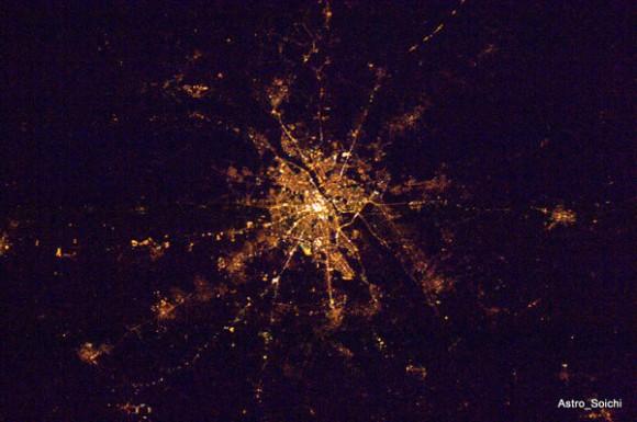 Europa de noche