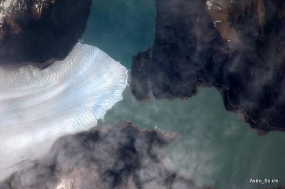 Glaciar al Sur de la Patagonia