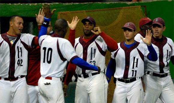 El equipo de La Habana ya está en semifinales de la temporada beisbolera cubana. AIN FOTO/Marcelino VAZQUEZ HERNANDEZ