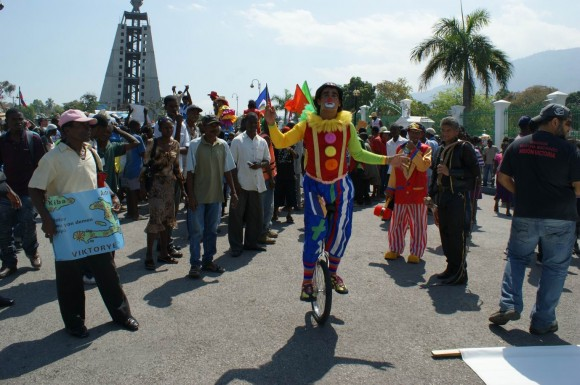 Brigada Martha Machado en Haití