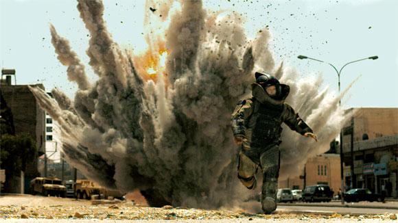 """Fotografía de escena de la película ganadora del Oscar 2010, """"The Hurt Locker"""""""