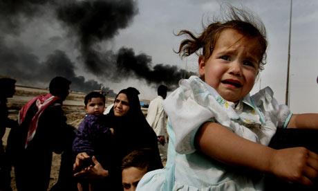 Contaminación en Iraq. Foto: Dan Chung