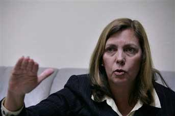 Josefina Vidal, directora del Departamento de América del Norte de la Cancillería cubana. Foto: AP