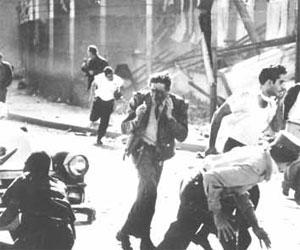 Explosión del buque La Coubre. La Habana, Cuba