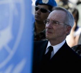 jefe de la Misión de Estabilización de Naciones Unidas en Haití (MINUSTAH), Edmond Mulet.