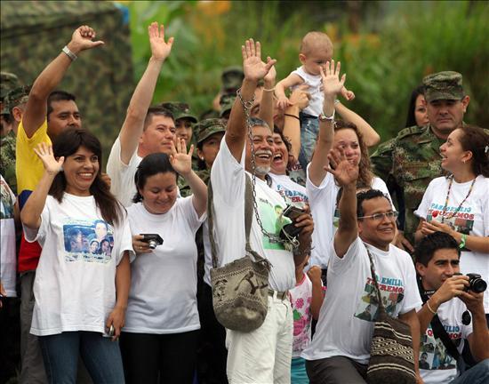 Liberación de Moncayo, calvario de 12 años está a punto de terminar Foto: AFE