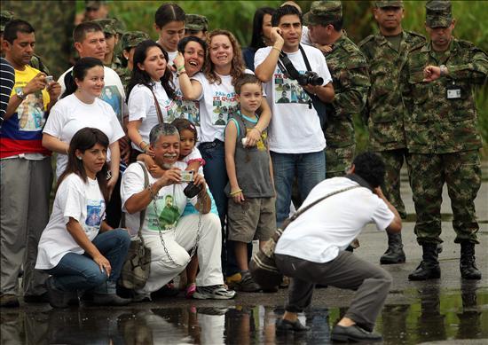 Liberación de Moncayo, calvario de 12 años está a punto de terminar Foto: AFP