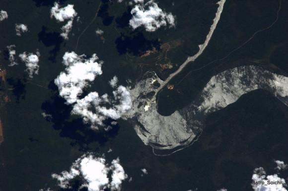 La Garganta del Diablo, en las montañas del Iguazú, entre Brasil y Argentina.