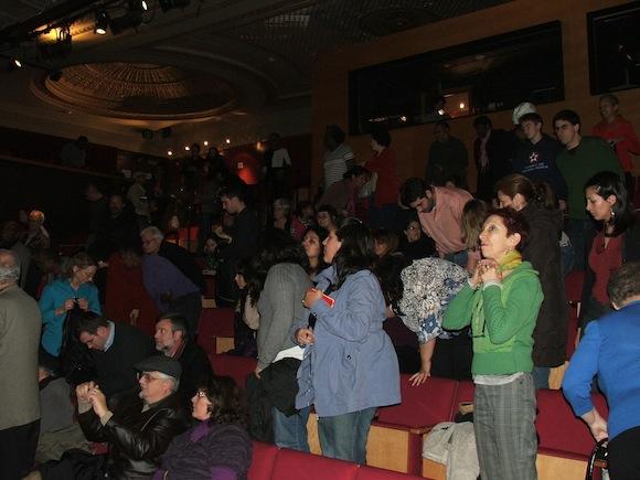 El público del Teatro Gala, en Washington. Foto: Ramón Fandiño