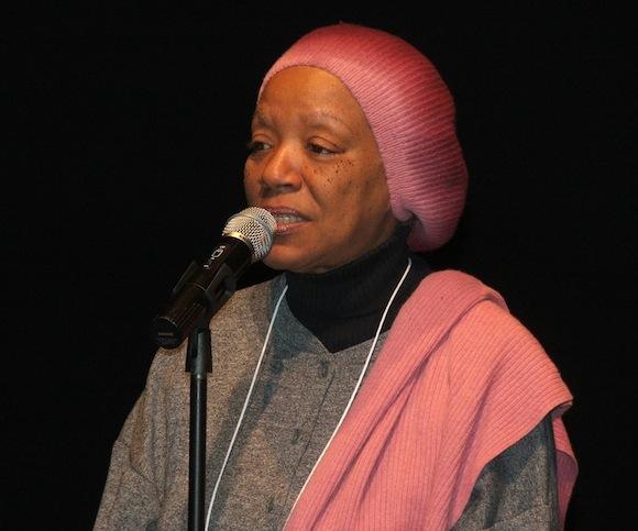 Nancy Morejón en el Teatro Gala, en Washington. Foto: Ramón Fandiño