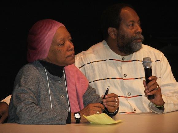 Nancy Morejón y James Early,director de Política de Herencia Cultural del Smithsonian Institution. Foto: Ramón Fandiño