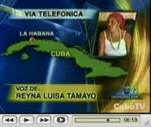 Video de la Televisión Cubana sobre la muerte de Orlando Zapata Tamayo