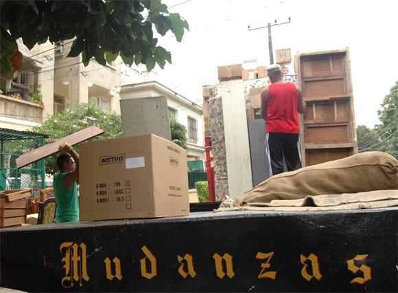 Se permuta en Cuba, la odisea. Foto: Kaloian