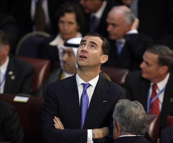 Felipe de Borbón. Foto: EFE