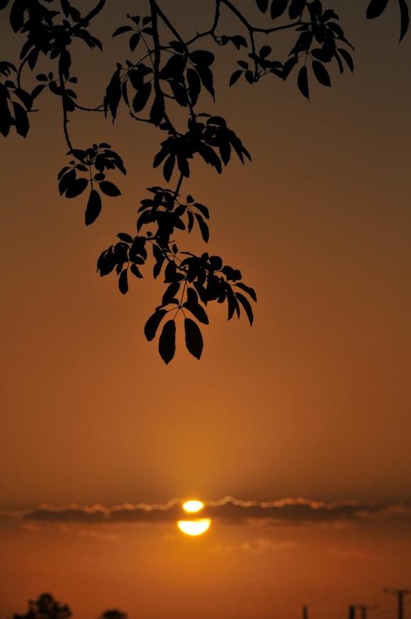 Salida del sol en la Isla de la Juventud