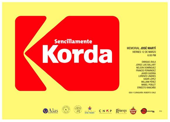 Cartel de la muestra. Diseñador: Jorge Rodríguez Diez (R10)