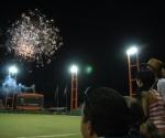 Primer juego de la final de la Serie Nacional de Béisbol entre Villa Clara e Industriales